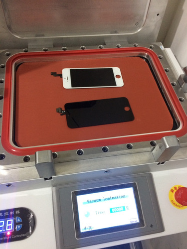 cambio de glass iphone 5 5c 5s surco maquina