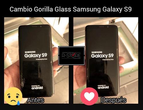 cambio de glass para samsung s8, s8+, s9, s9+ etc - r-store