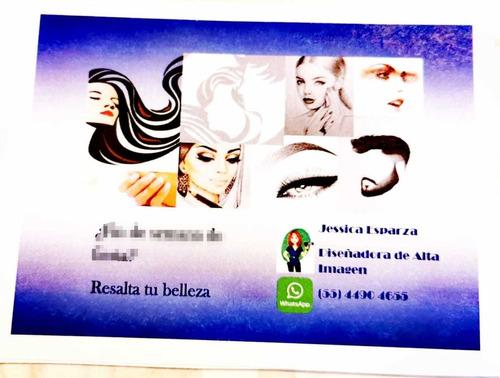 cambio de imagen cortes maquillaje así como diseño de barba