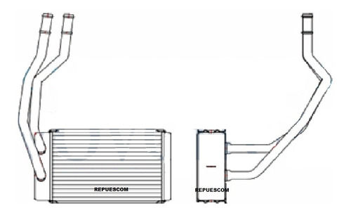 cambio de radiador de calefaccion peugeot / citroen