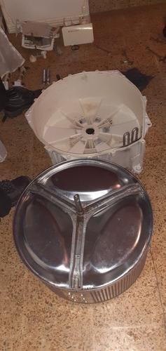 cambio de rulemanes y reten de lavarropas automaticos