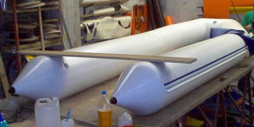 cambio de tubos completo para semirrígidos 4,80 m