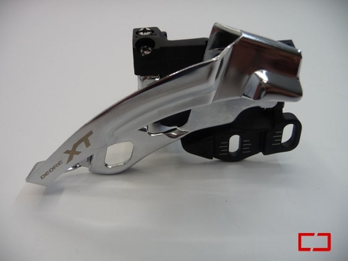 cambio desviador delantero central shimano deore xt 3x10