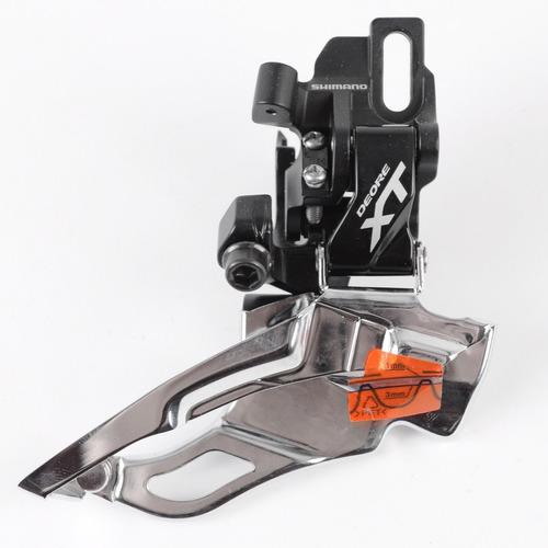 cambio dianteiro shimano deore xt m781 3x10 30v direct mount