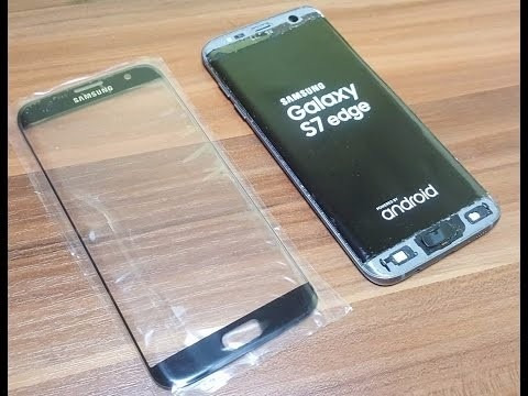 cambio glass s7 edge, s6 iphone 6s, 6s plus cristal gorilla