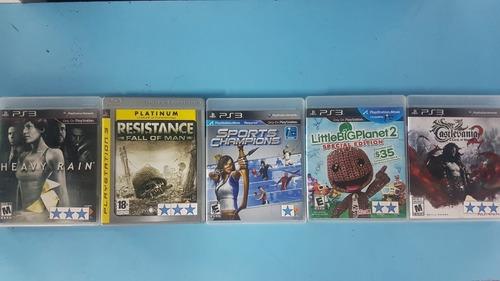 cambio  juegos de playstation 4 y playstation 3