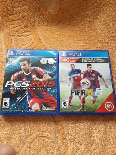 cambio juegos ps4 play 4 pes 2015 fifa 15 por juegos ps3