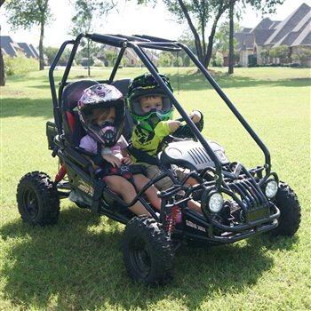 Cambio Mini Buggy Biplaza Go Kart 50cc Suspension Para