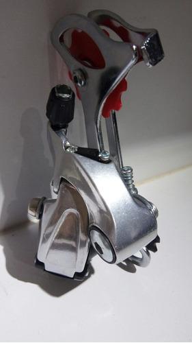cambio montañero 7 velocidades de tornillo con base de alumi