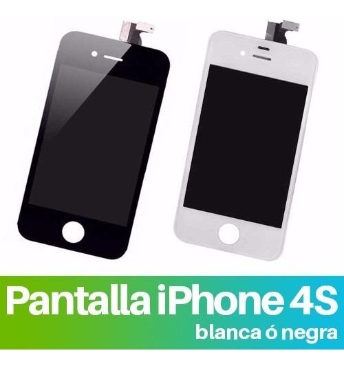 925824e3 Cambio Pantalla Completa Lcd Tactil iPhone 4 4g 4s Garantia