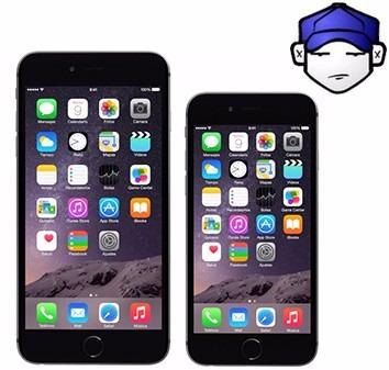 cambio pantalla vidrio lcd iphone 7 7plus original en acto