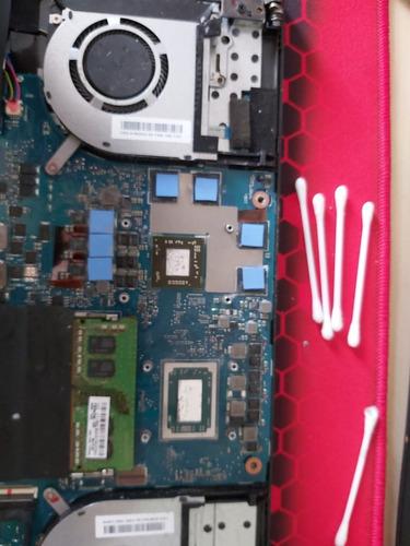 cambio pasta termica metal liquido pc y notebook