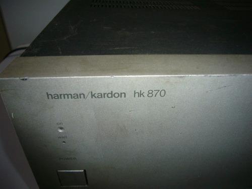 cambio poder harman kardon hk870 para checar