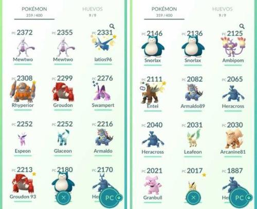 cambio pokemones con fly