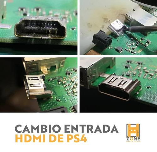 cambio puerto hdmi consolas xbox one / s  ps3 y ps4. h2zone