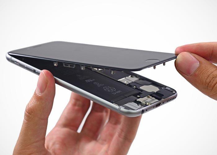bd6a37c7dcb Cambio Reparación De Pantalla Modulo Display iPhone 6 Plus - $ 1.990 ...