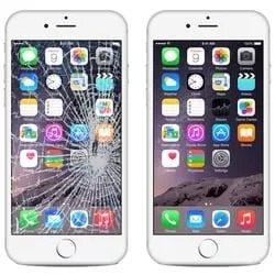 ba75b5aea4f Cambio Reparación Pantalla Modulo Display iPhone 6 - 6 Plus ...