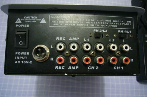 cambio repros tascam mp3 y mezcladora