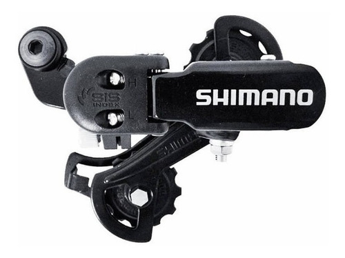 cambio traseiro shimano tourney rd-tz31 6/7v original c/nf