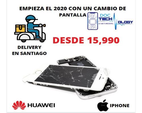 cambios de pantallas y reparaciones de placas de iphone