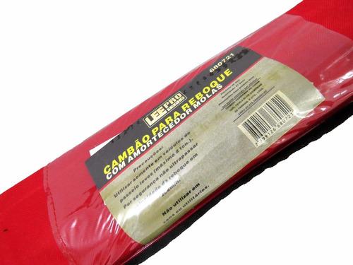 cambão para reboque c/ amortecedor de molas - leetools