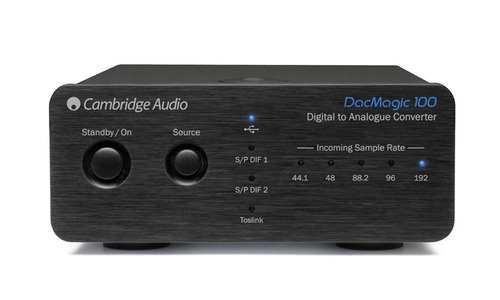 cambridge audio dac magic 100 conversor digital analógico