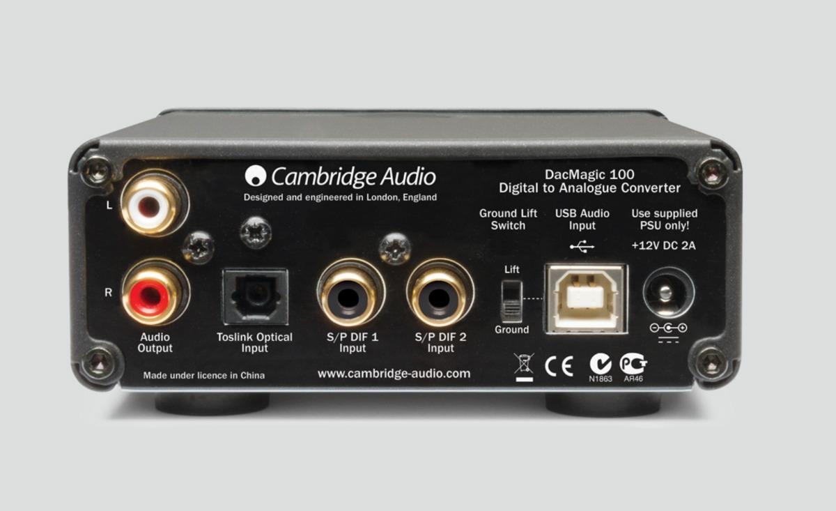 CAMBRIDGE AUDIO DACMAGIC 100 DRIVERS FOR WINDOWS 10