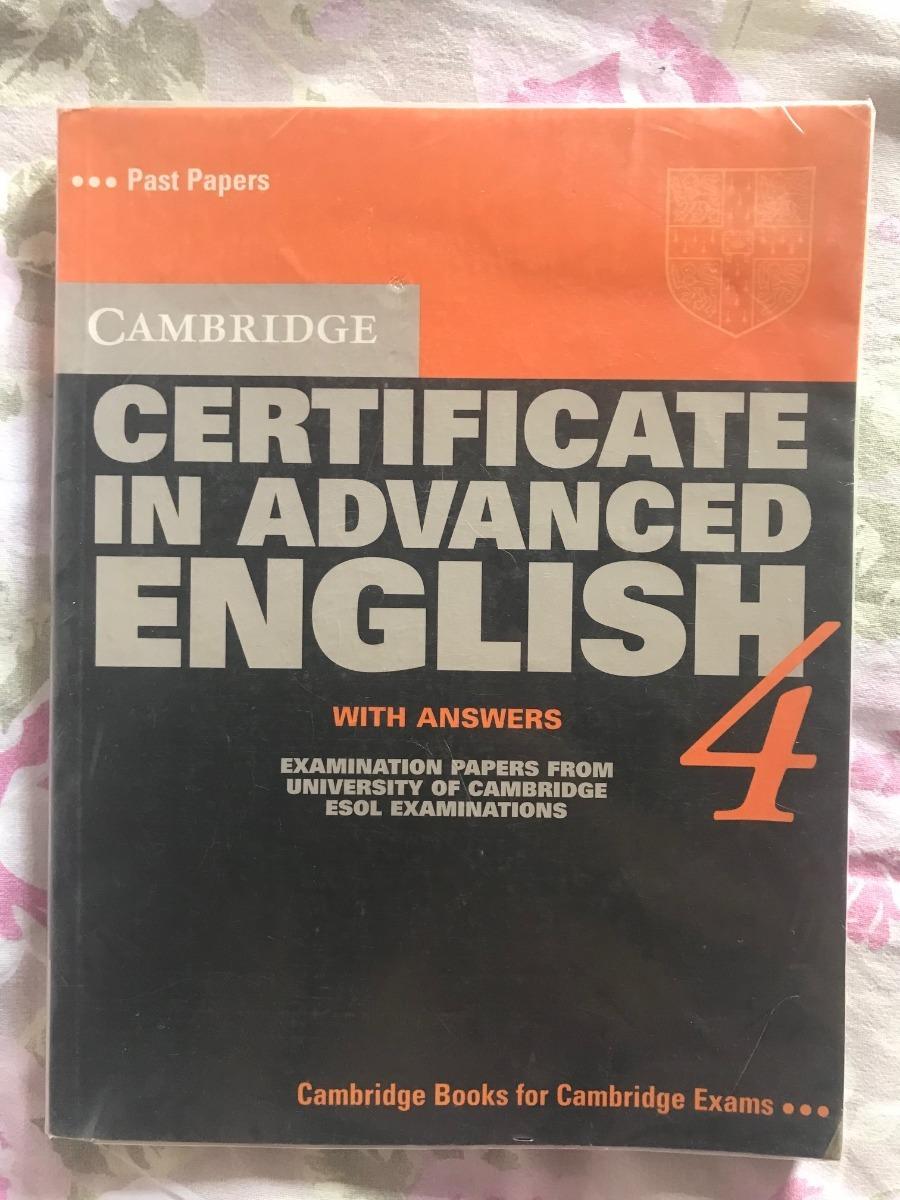 Cambridge Certificate In Advanced English Book