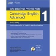cambridge english advanced 1 sin/key exam essentials cengage