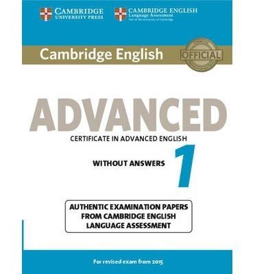 cambridge english advanced 1 - without answers