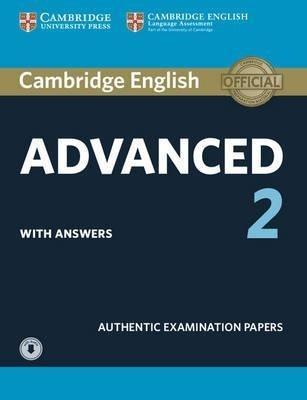 cambridge english advanced 2 with key & audio downloadable