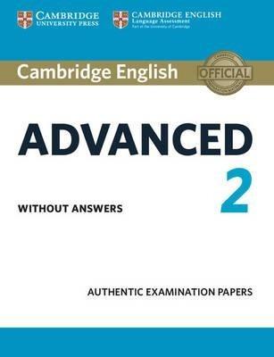 cambridge english advanced 2 - without answers