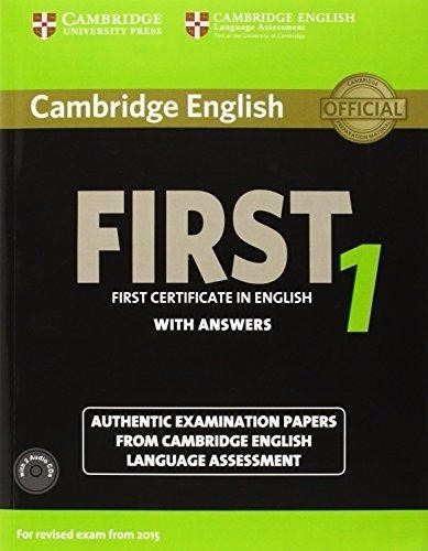cambridge english first 1 with answer + audio cds exam 2015
