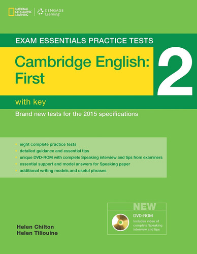 cambridge english first 2  exam essentials with key cengage