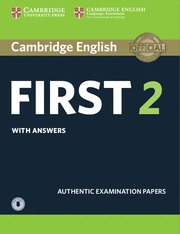 cambridge english first 2 w/answers & audio download 2015