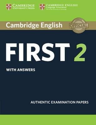 cambridge english first 2 with answers - exam 2015