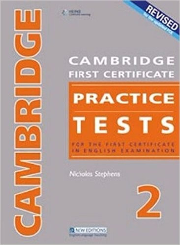 cambridge first certificate practice tests 2