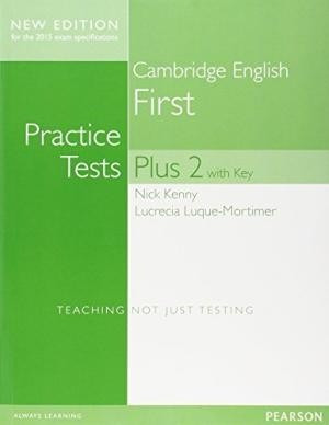 cambridge first practice tests plus 2 with key -2015 pearson