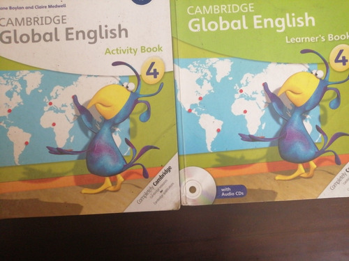 cambridge global english learner's book 4 cds& activity book