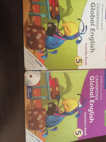 cambridge global english learner's book 5 & activity book 5