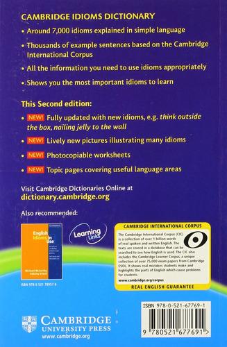 cambridge idioms dictionary - second edition