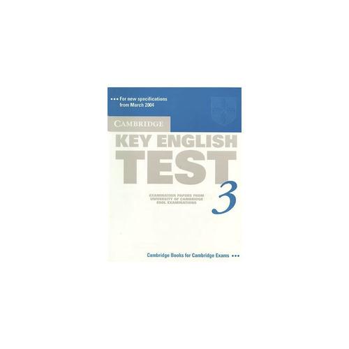 cambridge key english test 3 - rincon 9