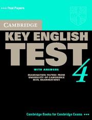 cambridge key english test 4 with answer - rincon 9