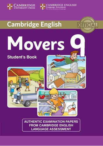 cambridge movers 9 students book