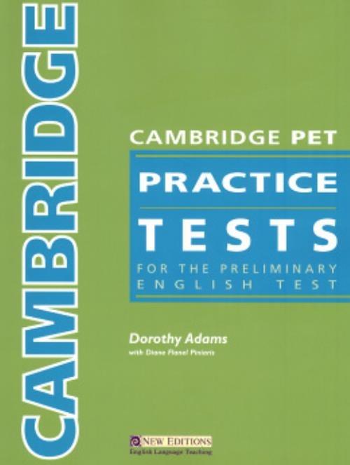 Cambridge Pet Practice Tests Sb - R$ 92,13 em Mercado Livre