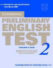 cambridge preliminary english test 2 teacher s book rincon 9