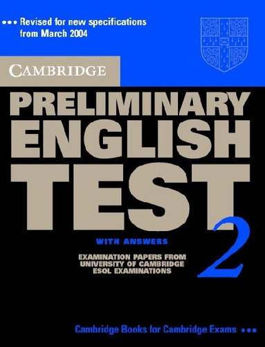 cambridge preliminary english test 2 with answer - rincon 9