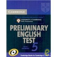 cambridge preliminary english test 5 with answer