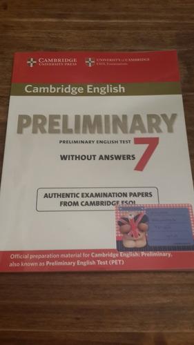 cambridge preliminary english test 7- student`s