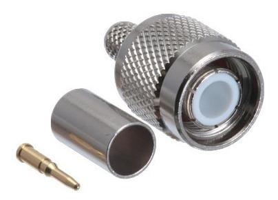 cambridge tnc male connector crimp for rg58 - conector tnc